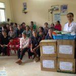 240 người nghèo ở Long Thới được phát thuốc miễn phí