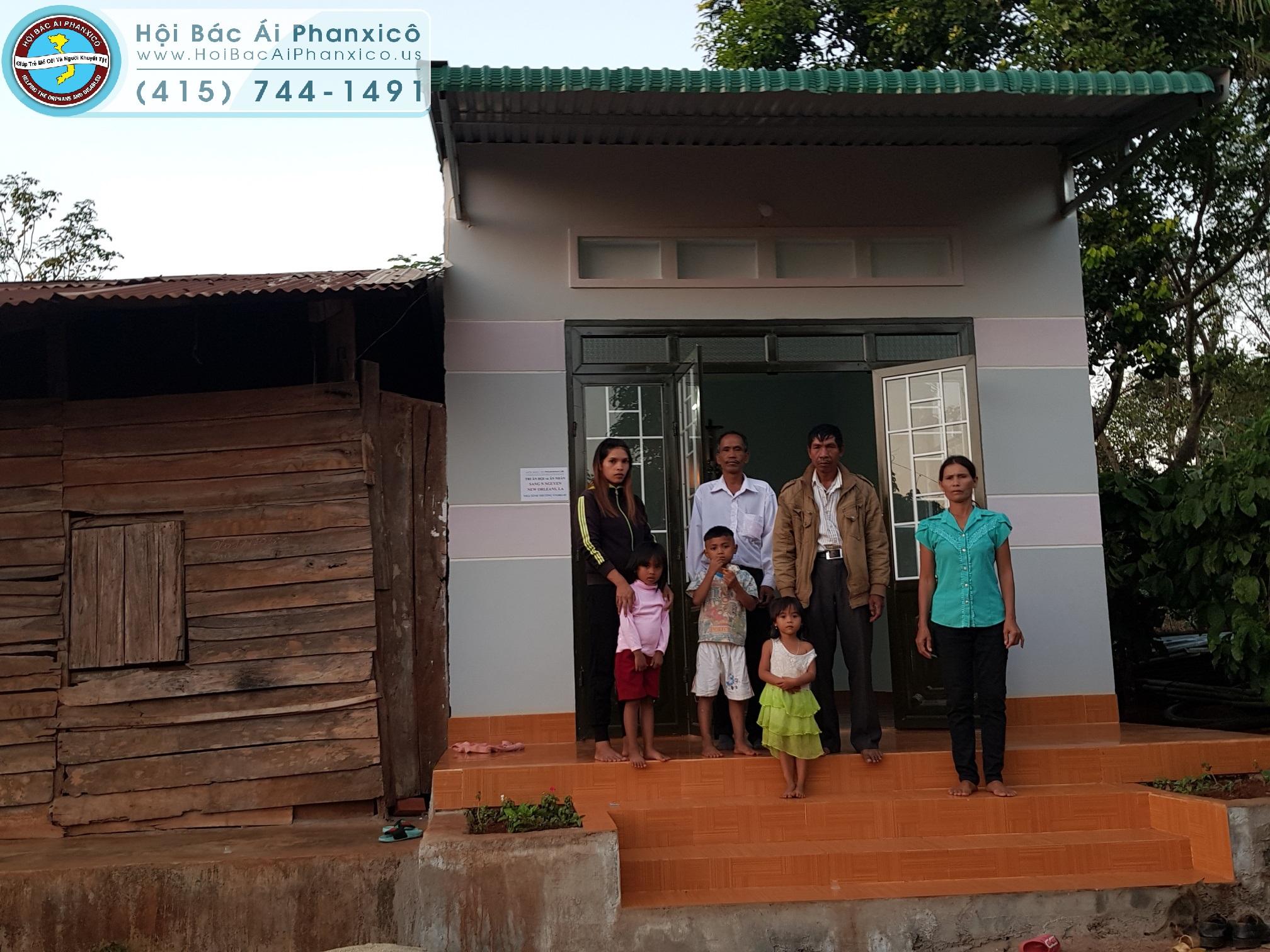 Chị H Juễn Eban với niềm vui có căn nhà mới